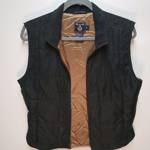 Faconnable Zip up Vest taupe lining
